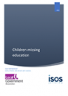 Children missing education - report cover image